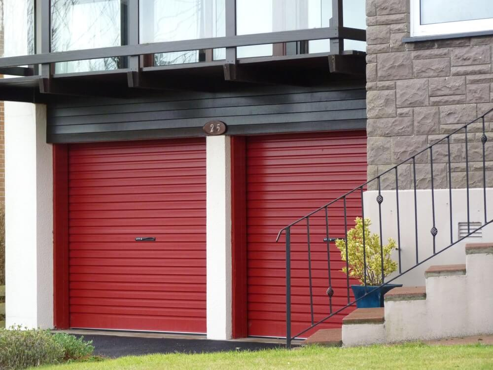 roldeur rood